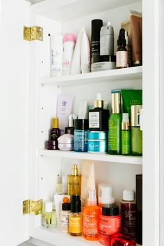 How to organize your beauty cabinet like a Sephora insider