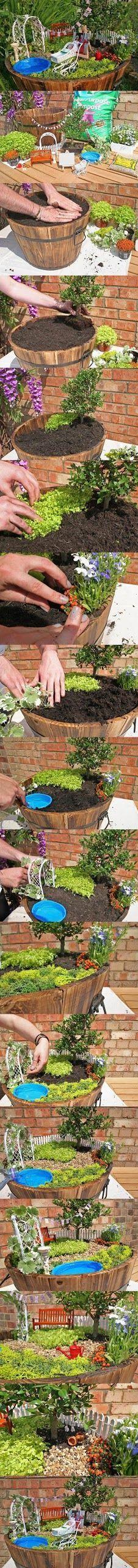 Feengarten mit Entstehung #miniaturegardens