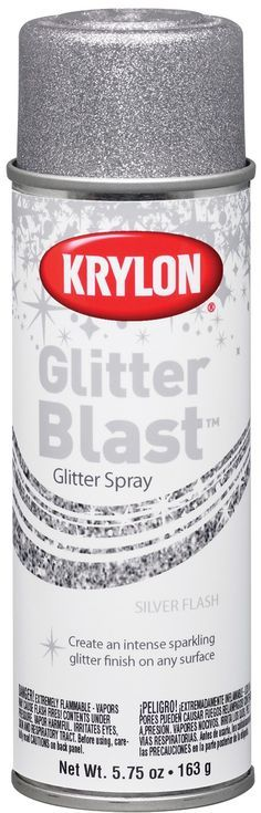 Glitter Spray paint! WHAT!!!!!!!!!!!!!!!!!!! Sarah Chintomby Chintomby Marchlewski now this is truly magical!