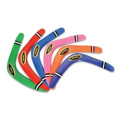 "16"" Boomerang in assorted colors, when thrown properly will come back…"