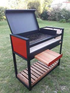 Brick Oven Outdoor, Outdoor Kitchen Bars, Fire Pit Backyard, Backyard Bbq, Bbq Grill Diy, Pizza Oven Fireplace, Bbq Stove, Diy Heater, Custom Bbq Pits
