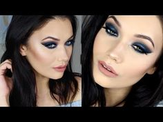 Navy Blue Makeup Tutorial | Urban Decay ALICE THROUGH THE LOOKING GLASS - YouTube