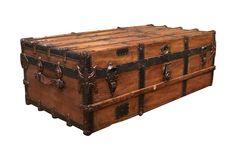 Antique Treasure Trunk