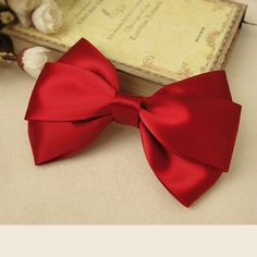 Red Bow - Moño rojo bow obsess
