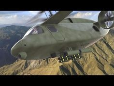 AVX Aircraft - Compound Coaxial Helicopter (CCH) Simulation [1080p] - YouTube