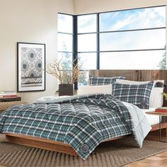 Eddie Bauer Ludlow 3-piece Comforter Set - Overstock Shopping - Great Deals on Eddie Bauer Comforter Sets
