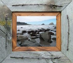 Texas Cowboy Wide Picture Frame