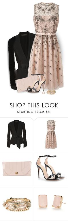 """""""A-List Party"""" by daiscat ❤ liked on Polyvore featuring Donna Karan, Valentino, Lanvin, Gucci and Kate Spade"""