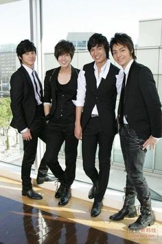 Korean actors from the Korean drama Boys Before Flowers