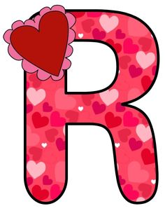 ❤️ Cute Letters, Large Letters, Monogram Alphabet, Alphabet And Numbers, Alphabet Templates, Classroom Labels, Abc For Kids, Letter Stencils, Borders For Paper