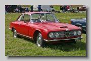 La mitica Alfa Romeo 2600 Sprint di Bertone, 6 cilindri, un gran motore!