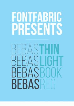 "Bebas Neue is a sans serif font family based on the original Bebas Neue free font by Ryoichi Tsunekawa. It has grown in popularity and become something like the ""Helvetica of the free fonts"". Download source"