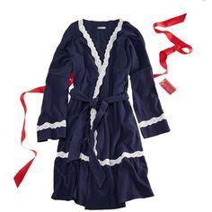 Aerie Lace Trim Robe