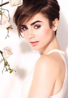 Lily Collins - Lancôme Campaign 2016