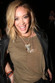 Hilary Duff attends the Hilary Duff 'Chasing The Sun' single release celebration at Marquee on July 25, 2014 in New York City