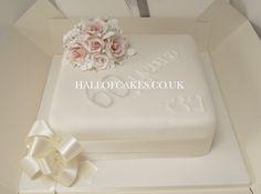 Diamond Anniversary Cake by Hall of Cakes