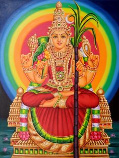 Goddess Tripura-Sundari (Lalita)