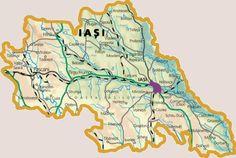 Reabilitari foraje in judetul Iasi Map, Location Map, Maps
