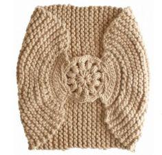 Crochet head Wrap... Love this natural cream color