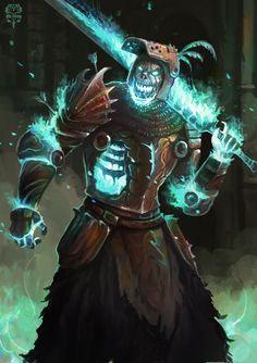 The Undead Knight by Banzz.deviantart.com on @DeviantArt