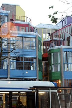 Aldo van Eyck   Viviendas Hubertus House   Asterdam, Paises Bajos   1973-1978