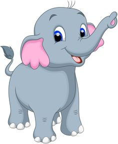 Cartoon Baby Elephant Jungle Animal On A Transparent Background Cute Elephant Cartoon, Cute Cartoon Animals, Baby Cartoon, Cartoon Pics, Baby Elephant, Cartoon Drawings, Animal Drawings, Cartoon Art, Cute Drawings