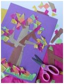 This fun art project is a great way to introduce your child to some basic geometry.