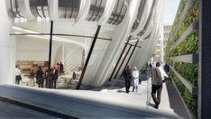 Galería de Zaha Hadid Architects presenta nuevas imágenes de su primer rascacielos en Melbourne - 7