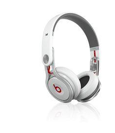 Monster Beats by Dr. Dre Mixr High Performance Professional On Ear DJ Headphones White