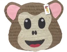 Envío rápido mono Emoticon Pinata