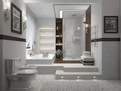 Get Suitable and Affordable Bathroom Decoration With 20 Modern Bathroom Design Ideas
