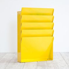 Happy Yellow Paper File, Love It! $85, now featured on Fab.