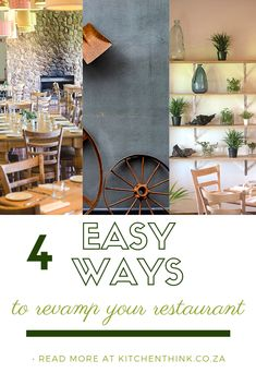 We look into our Brahman Hills revamp and the easy ways you can implement the same lessons. Management, Restaurant, Interior, Easy, Kitchen, Home Decor, Cooking, Decoration Home, Room Decor