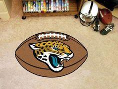 """NFL - Jacksonville Jaguars Football Rug 20.5""""x32.5"""""""