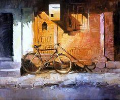 rajkumar sthabathy | Watercolour Paintings by Milind Mulick