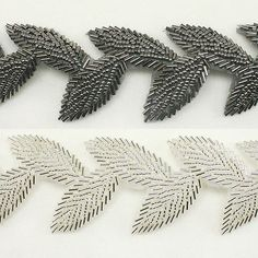 Beaded Leaf Trim 40 - Women Girls Baby Hair Accessories Clips Headbands Hats