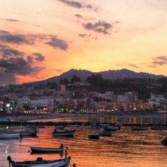 Photo taken at Giardini Naxos by thewhiteswan on 6/29/2012