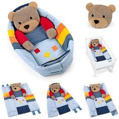 Sterntaler Kuschelnest Basti 100 x 130 cm >> Mehr Spaß und Funktion für's Baby >> verwendbar als Kuschelnest, Krabbeldecke und Bettchenverkleinerer | online kaufen bei kids-comfort.de