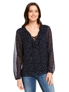 Image for Debbie Flared Sleeve Blouse from Just Jeans