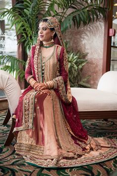 A Hyderabadi Bride In Beautiful Asifa And Nabeel Attire Hyderabadibride Asifaandnabeel Muslimbride
