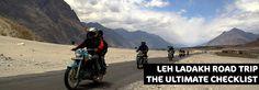 LEH LADAKH ROADTRIP-THE ULTIMATE CHECKLIST