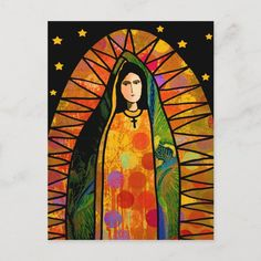 Virgin Mary Art, Inca Tattoo, Jesus Painting, Collaborative Art, Mexican Folk Art, Cool Paintings, Kirchen, Religious Art, Our Lady