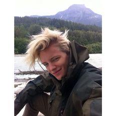 Erika Linder #beauté #androgyne