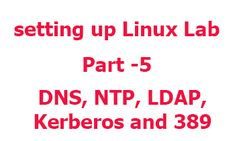 setup Linux Lab yet home - installing and configuring IPA server
