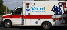Walmart Ambulance--Walmart will began offering private EMS services in rural areas