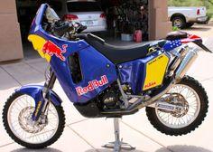 KTM 660 Dakar Rally Bike