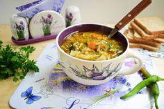 Retete Culinare - Ciorba de loboda Romanian Food, Romanian Recipes, Cheeseburger Chowder, Ethnic Recipes, Soups, Soup