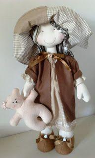 Margarida Flor Bonecas e Lembrancinhas: Bonecas de Pano