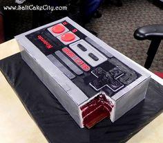 Pastel Nintendo, Nintendo Cake, Nintendo Party, 80s Birthday Parties, 80s Party, 30th Birthday, Birthday Cakes, Party Time, Birthday Ideas