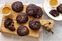 The salt flakes complement and enrich the cocoa and chocolate in these cookies. Decadent to eat, these roll and bake cookies may very well become a staple in your recipe repertoire.